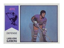 1974-75 Lars-Erik Sjoberg #66 Winnipeg Jets O Pee Chee Wha Ice Hockey Card H358