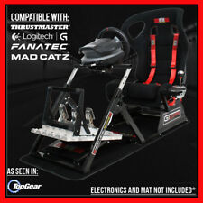 GTULTIMATE V2 Racing Simulator Cockpit Gaming Chair Logitech G27/G29/G920/T500RS