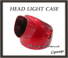 *HONDA CL90 SS125A CL125A CL175 CD125 CD175 CA175 CT90 CT110 HEAD LIGHT CASE RED