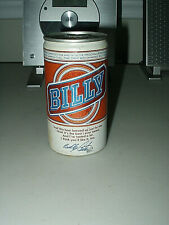 """Old """"Billy Beer"""" Empty & Sealed Beer Can <Pearl Brewing Co. San Antonio TX> NOS"""