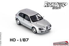 RICKO 38411 - H0 1:87 - Auto modellino Alfa Romeo 147 Argento