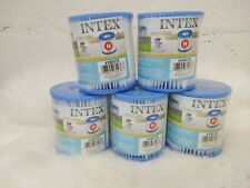 NEW sealed Intex Replacement Pool Filter Cartridge Type H (lot of 5)