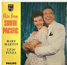"""Mary Martin / Ezio Pinza - Hits From South Pacific 7"""" Ep 1950s"""