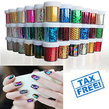 24Pcs Nail Art Stickers Lot Easy To Apply Decoration Tips Wraps Adhesive Foil