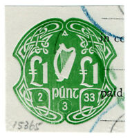 (I.B) Ireland Revenue : Impressed Duty £1