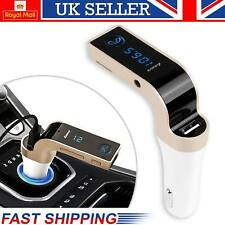 Car Bluetooth Wireless FM Transmitter Kit For MP3 Music Radio Player & USB Port