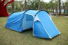 New style!3-4persons one bedroom & one living room double layer tunnel tent