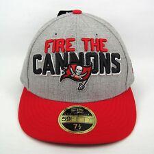 NEW Era MEN'S NFL Tampa Bay Buccaneers Team Slogan 5950 montato Cap - 7 1/2