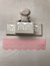"Martha Stewart  ""Embroidery"" Deep Edge Paper Punch Crafting Scrapbooking NIB"