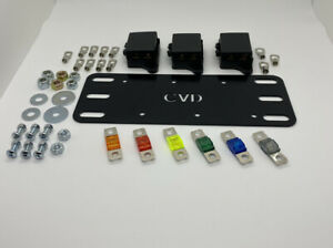 Offset Double Midi Fuse Battery Plate Complete Kit - Isuzu D-Max Holden Colorado