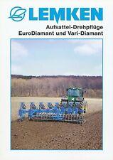 Lemken Aufsattel-Drehpflug EuroDiamant Prospekt 5/03