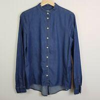 [ LACOSTE ] Womens Denim Blouse / Shirt Top  | Size EUR 38 or AU 10 / US 6