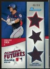 Chun-Hsiu Chen Card 2011 Bowman Future's Game Triple Relics #CC
