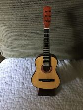 Small Guitar With Stand and Case