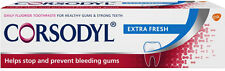 Corsodyl Extra Fresh Toothpaste 75ml FREE UK DELIVERY