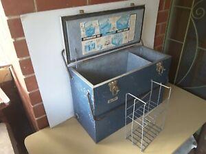 Large Vintage Retro  CLAYTON STAYKOLD Metal Esky Cooler 1960s era