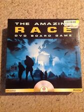 Used But Complete The Amazing Race DVD Board Game