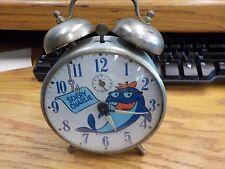 vintage 1969 Star Kist Tuna Sorry Charlie Alarm Clock working