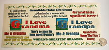 NO 209 Scrapbooking - 14 Piece Large Grandfather Stickers - Scrapbook and Craft