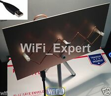 WiFi Antenna  MACH 1 ALFA G/N Double Biquad Booster Long Range GET FREE INTERNET