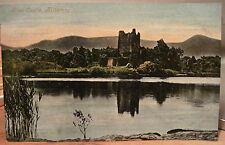 Irish Postcard ROSS CASTLE Killarney Ireland View Across the Water Valentine