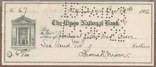 Thomas Verner Moore, Physician, Psychologist, Priest, Monk Signed Check 1922 COA