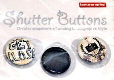 Lomography Shutter Button Set #5 for jacket case bag or collection (NEU/OVP)