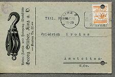 Austria vecchia cartolina pubblicitaria G. stüber, Linz (n92)