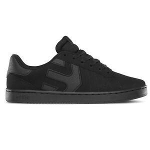 Etnies Herren Leder Sneaker Fader LS 4101000416/536 Black Raw schwarz