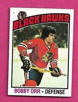 1976-77 TOPPS  # 213 HAWKS BOBBY ORR GOOD CARD (INV# C5512)