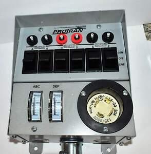 Reliance Protran 31406c Generator Transfer Switch