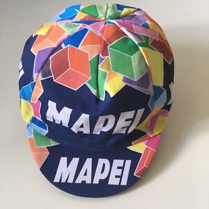 Mapei Retro Cycling Cap - Made in Italy