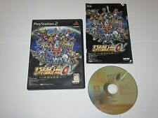Super Robot Taisen MX - PlayStation 2 PS2 Japan Import