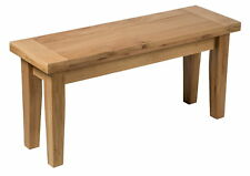 Oak Dining Bench | Solid Wood Seat for Dining / Kitchen Table