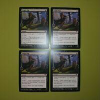 Tragic Slip x4 - Dark Ascension - Magic the Gathering MTG - 4x Playset