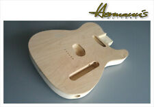 Telecaster 2-piece Swamp Ash Body mit 6mm Flame Maple Top, unfinished 1,67 Kg