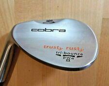 NEW Left Handed COBRA Trusty Rusty Sand Wedge (55*) Tri-Bounce, Steel Stiff