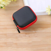 Mini Headset Zipper Case Bag Storage Pouch Cover For iPod iPhone 6 6s Headphone