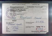 Camp Stalag VIIA Moosburg 1942 POW Prisoner France Kriegsgefangenenpost K71