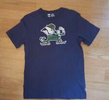 Boy Size XL Navy Blue Notre Dame University Shirt