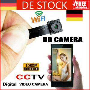 Mini WIFI IP Kamera HD 1080P Kabellos WLAN Webcam Überwachungskamera Nachtsicht
