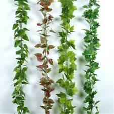 Largo artificial colgante de pared cadena plantas falsa suculentas Flor T