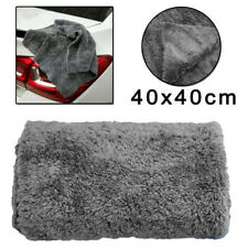 High Absorbent Microfiber Towel Car Home Drying Washing Clean Wash Cloth Gray