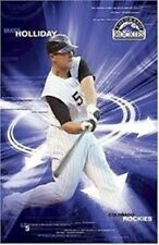 COLORADO ROCKIES ~ MATT HOLIDAY ~ 22x34 MLB BASEBALL POSTER