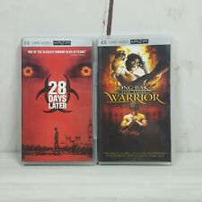 Lot of 2 UMD Video PSP DVDs 28 Days Later Ong-Bak The Thai Warrior Untested