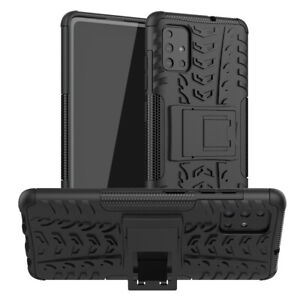 For Samsung Galaxy A51 A71 Case Heavy Duty Shockproof Rugged Stand Phone Case