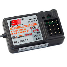 Quality FS-GR3E 3 Channel 2.4G Receiver GT3B GR3C For RC Car Truck Boat Failsafe