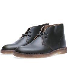 Clarks Original Mens ** X Desert Boots ** Horween Green Lea ** Uk 7,8,9 F