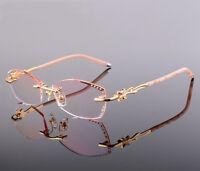 Rimless Eyeglass Frames Women Eyewear Frames Cutting Lenes Glasses Frames 58063