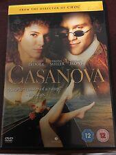 Casanova DVD with Sienna Miller, Jeremy Irons and Heath Ledger